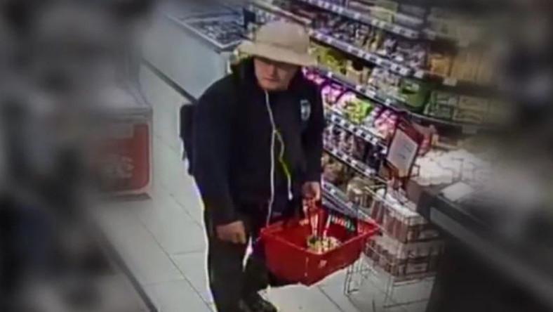 A Teréz körúti robbantás feltételezett elkövetője vásárlás közben