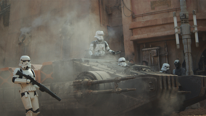 Rogue One: A Star Wars Story..Ph: Film Frame ILM/Lucasfilm..© 2016 Lucasfilm Ltd. All Rights Reserved.