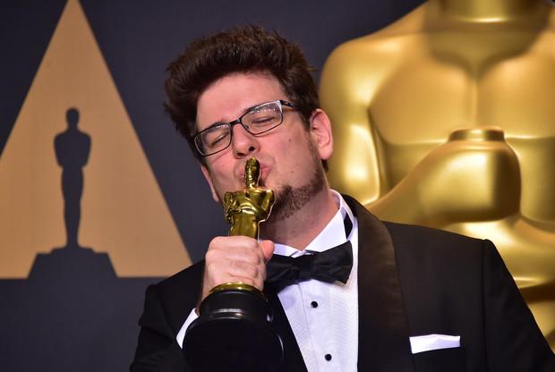 Deák Kristóf, immáron Oscar-díjas rendező / Fotó: AFP