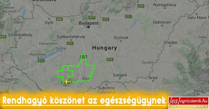 Kép: Flightradar.com